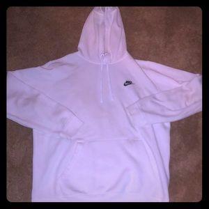 White cotton Nike sweatshirt